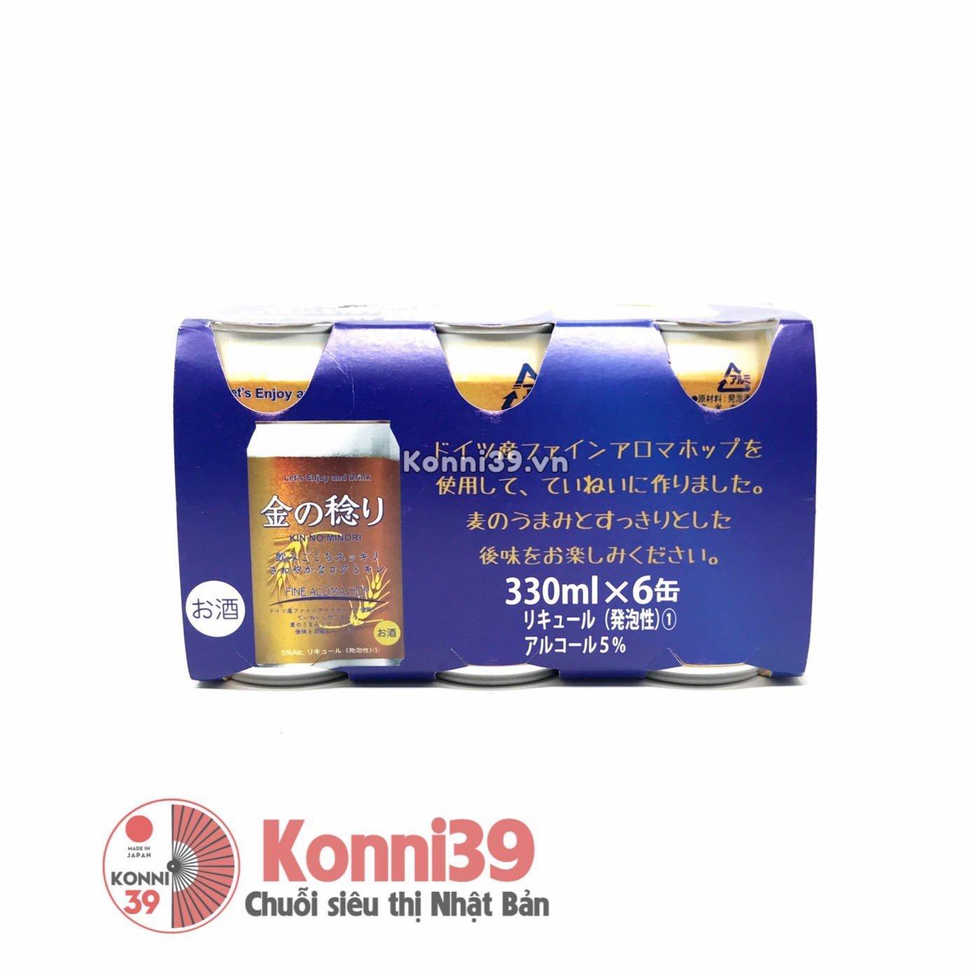 bia-kin-no-minori-lon-330ml-pack-6-lon