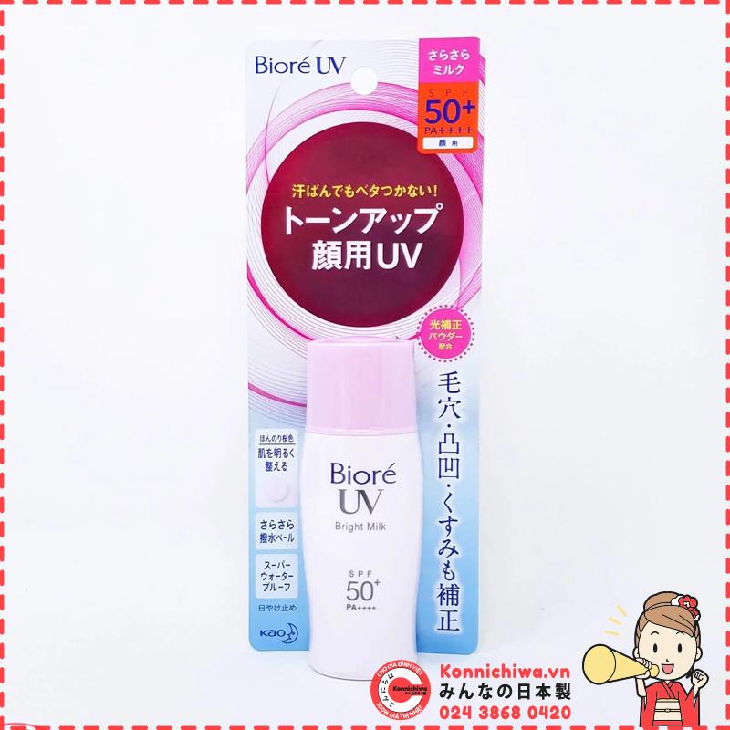 kem-chong-nang-biore-uv-bright-milk-spf50-pa-40ml-hong