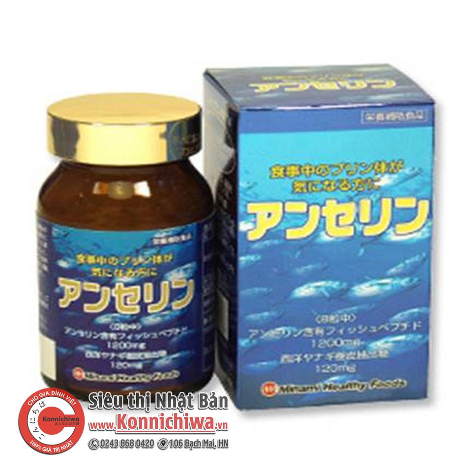 vien-uong-tri-gout-anserine-minami-hf-250mg-240v