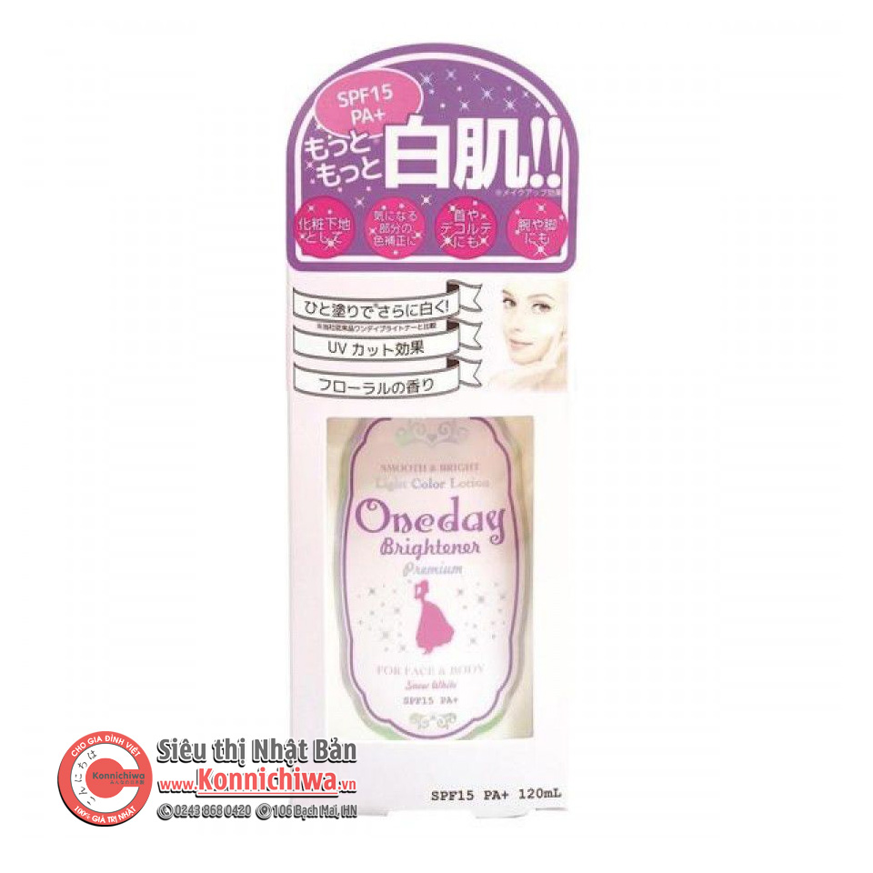 lotion-trang-da-chong-nang-one-day-spf15-chai-120ml