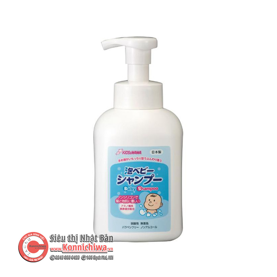 dau-goi-cho-be-kids-mama-450ml