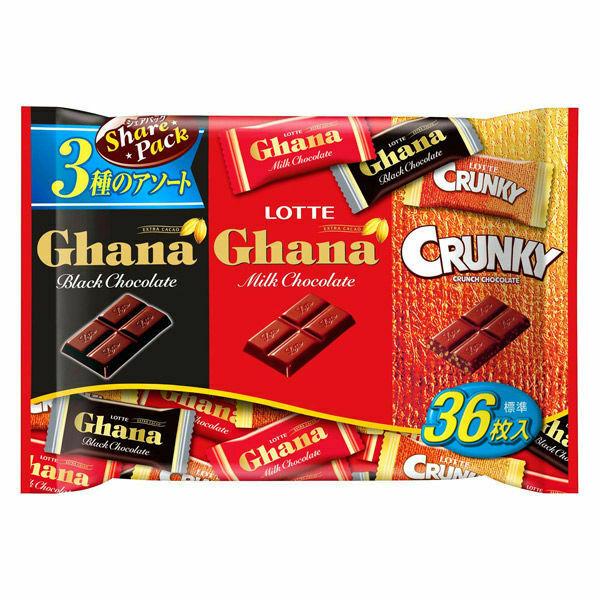 keo-socola-lotte-ghana-mix-3-loai-goi-134g