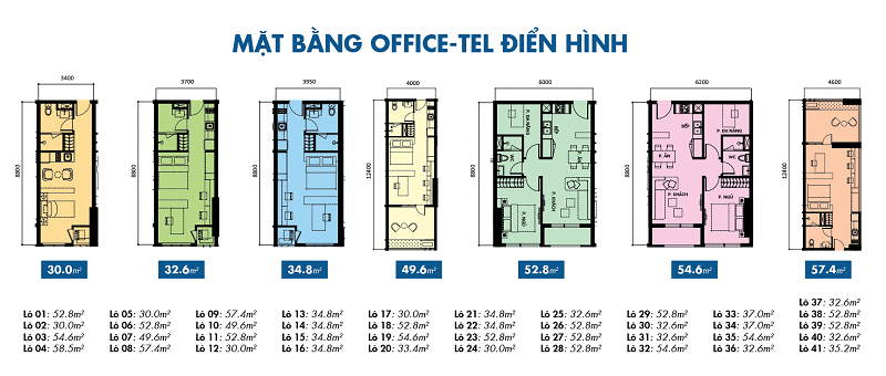 Căn hộ văn phòng Officetel
