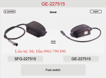 Bàn đạp chân xe nâng genie Z135/70RT, ZX135/70RT, S105, S125