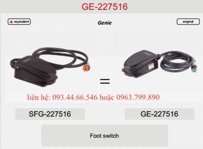 Bàn đạp xe nâng người genie Z60/34RT, Z62/40RT, S45, S65, S85....