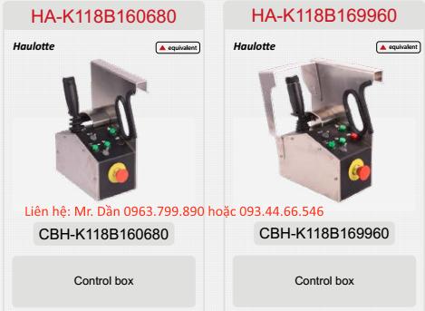 Hộp điều khiển xê nâng người haulotte Star 6 -AC, Optimum 6, Optimum 8, compact 10