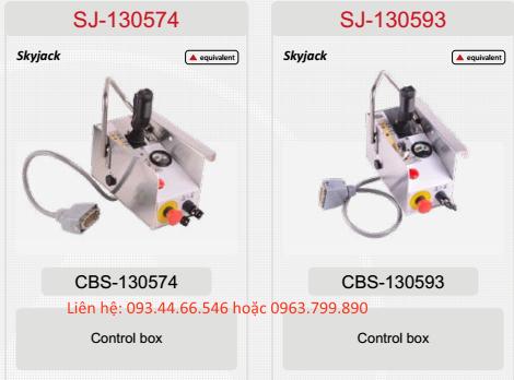 Hộp điều khiển xe nâng người Skyjack SJIII3215, SJIII3219, SJIII3220, SJIII4632