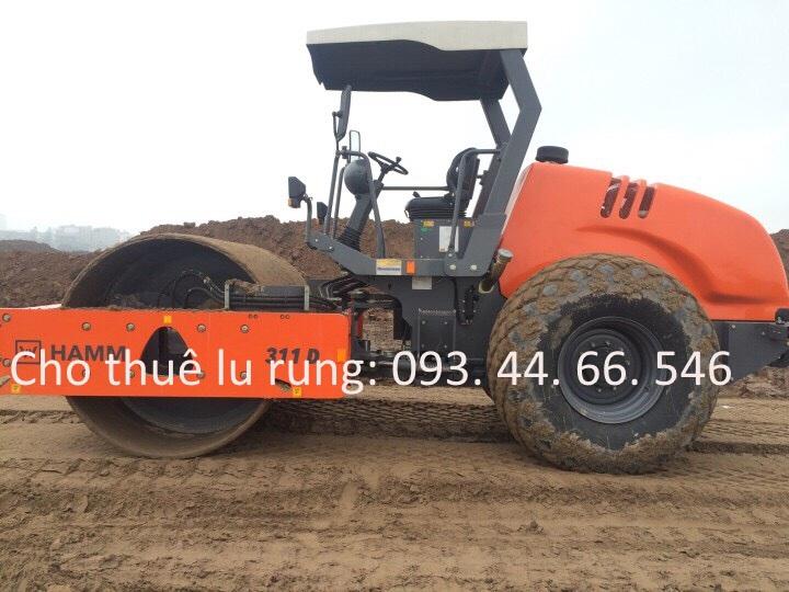 Cho thuê lu rung hamm 311D  sản xuất 2016