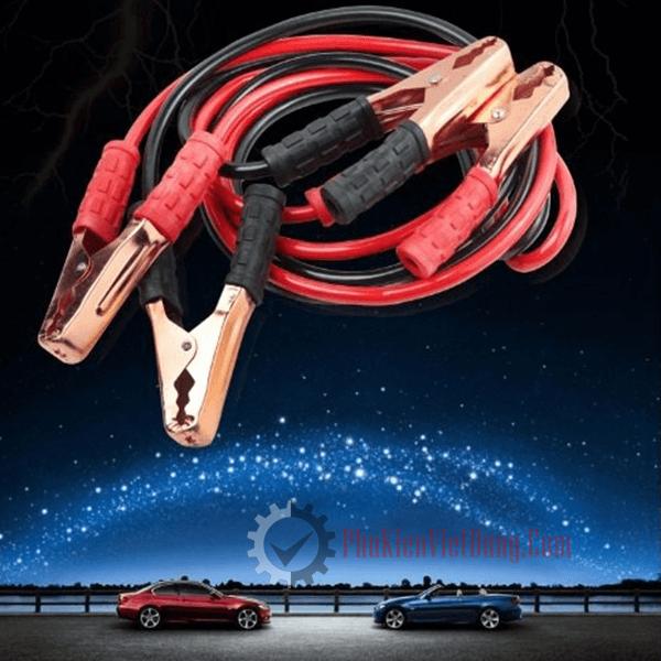 Bộ dây câu điện bình ắc quy 2 mét
