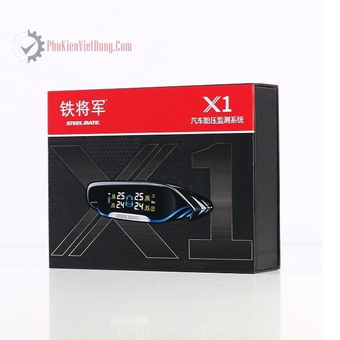 Cảm biến áp suất lốp chính hãng Steelmate X1