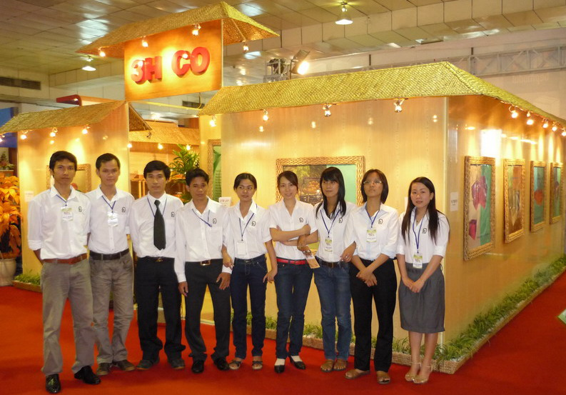 Our stand in Expo in Oct, 2010