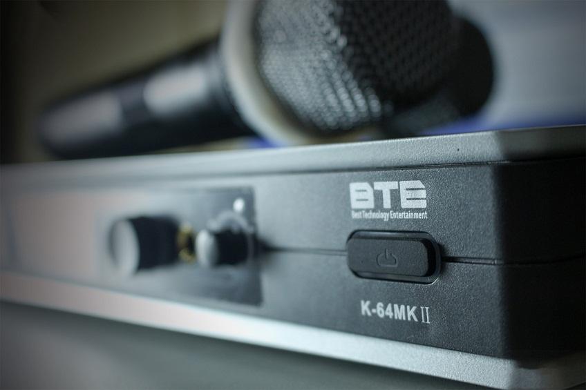 Micro không dây BTE K64 MKII