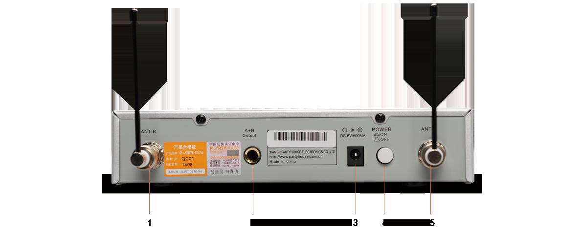 Micro không dây Party House K-500