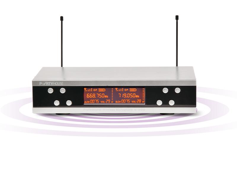 Micro không dây PartyHouse K300
