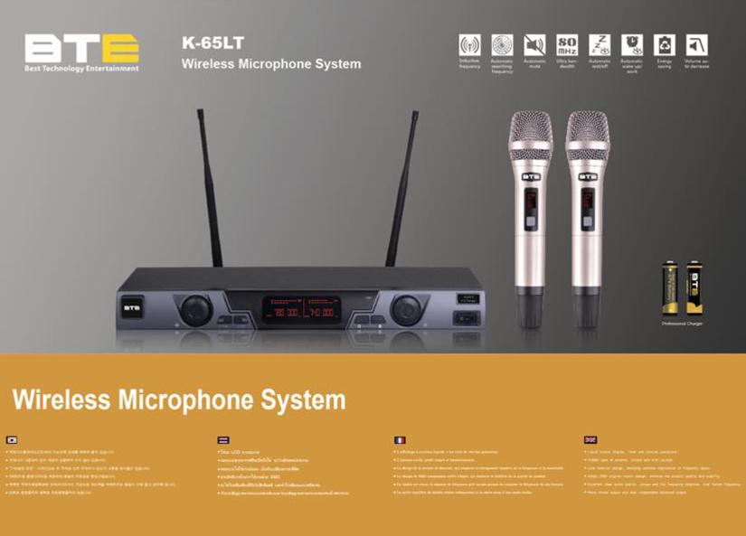 Micro không dây BTE K-65LT