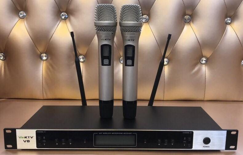 Micro Karaoke VinKtv V8