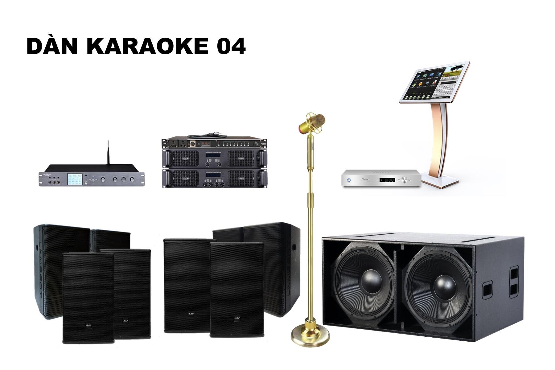 Dàn karaoke K18-04