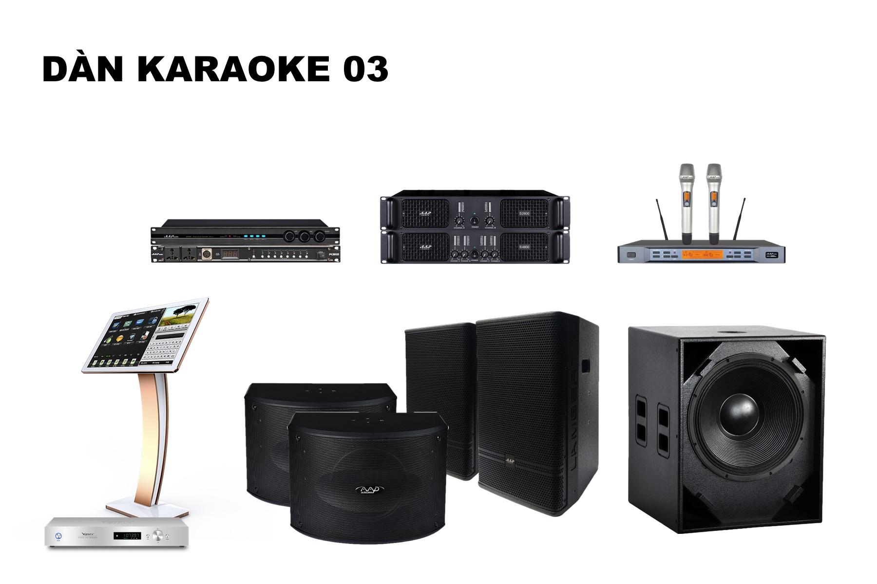 Dàn Karaoke K18-03