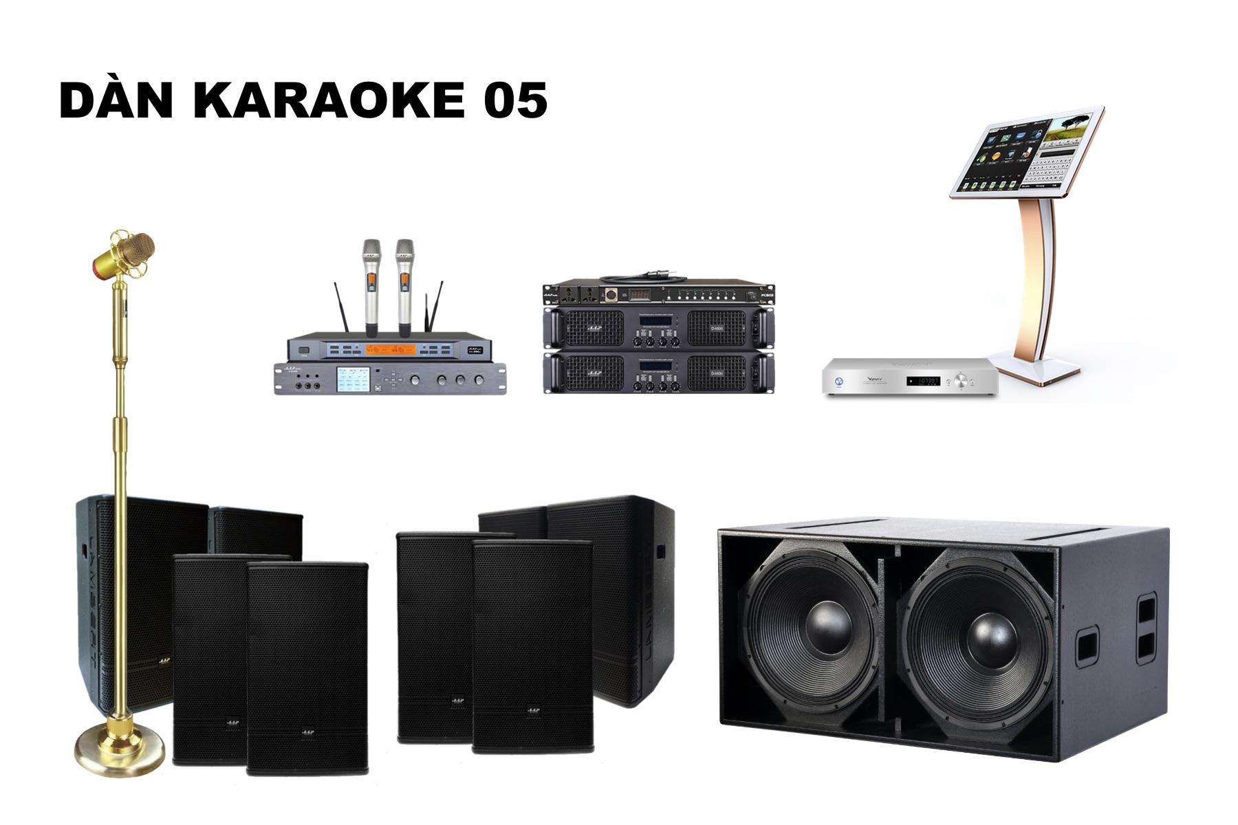 Dàn karaoke K18-05