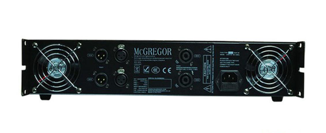 Công suất McGregor K206