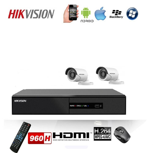 TRỌN BỘ 02 CAMERA HIKVISION DS-2CE16C0T-IRP (1.0MP)