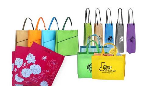 Túi vải không dệt cho shop thời trang