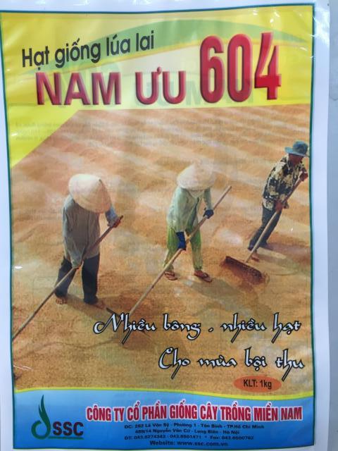 Túi Giống lúa lai Nam Ui 604