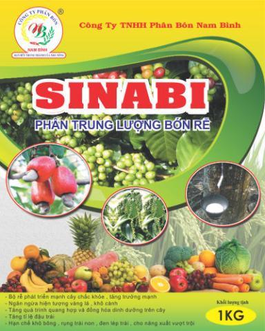 Bao bì Phân Bón Rễ SINABI (1kg)