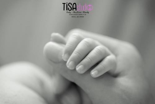 chụp hình cho bé sơ sinh