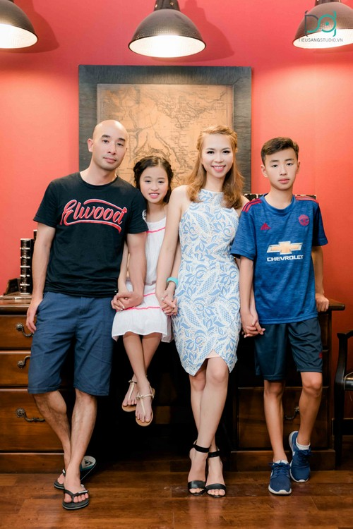 mẫu chụp hình gia đình