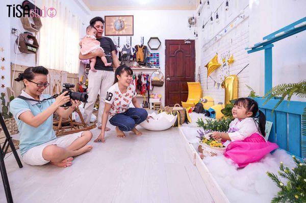 studio chụp hình cho bé sơ sinh