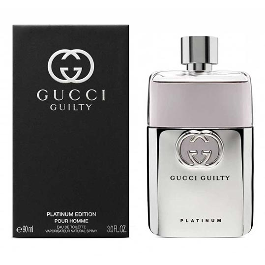 Gucci Guilty Platinum Editions Pour Homme
