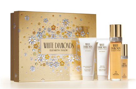Elizabeth Taylor White Diamond Gift Set