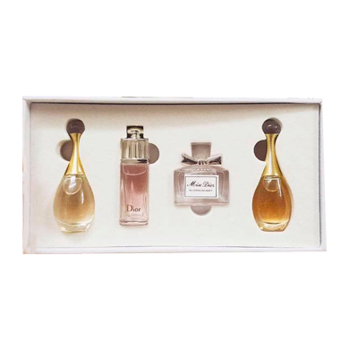 gift set DIOR FOR HER MINI 4 CHAI