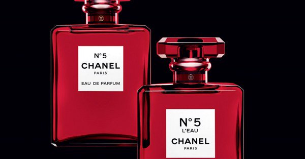 Chanel No.5 L'eau Red Limited Edition