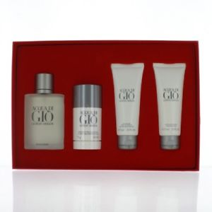 Acqua Di Gio by Giorgio Armani 100ml 4 Piece Gift Set