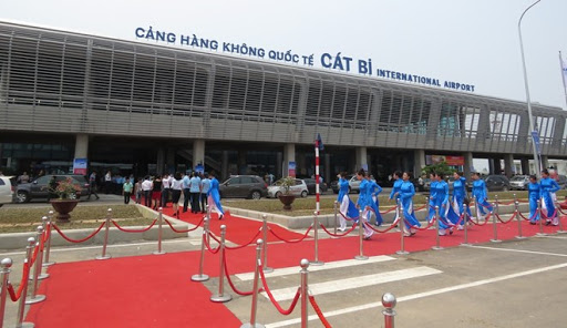 CAT BI AIRPORT TO HANOI CITY OR HANOI AIRPORT PRIVATE TRANSFER BY 16 SEATS MINIBUS