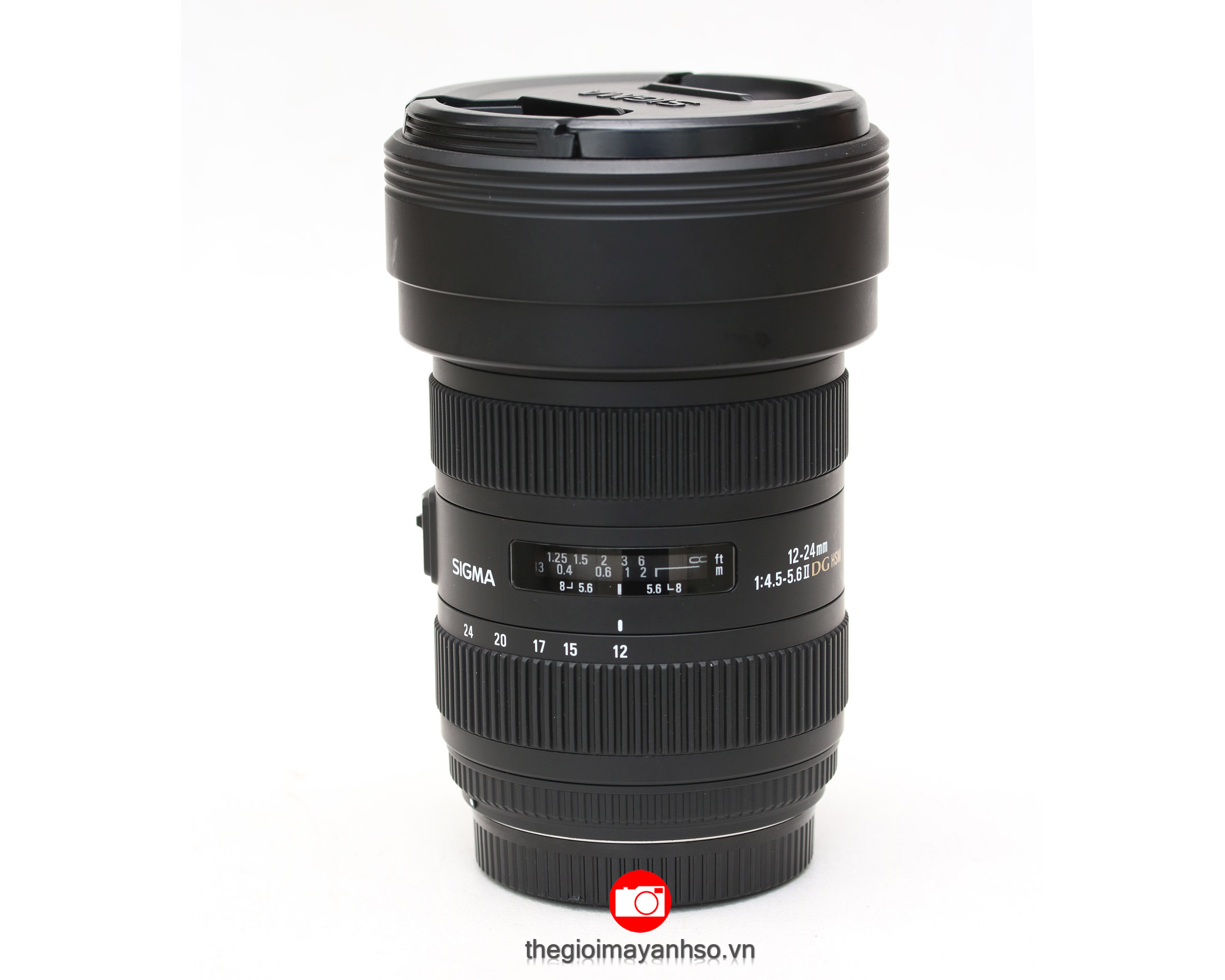 Sigma 12-24mm f/4.5-5.6 DG HSM II Lens for Canon