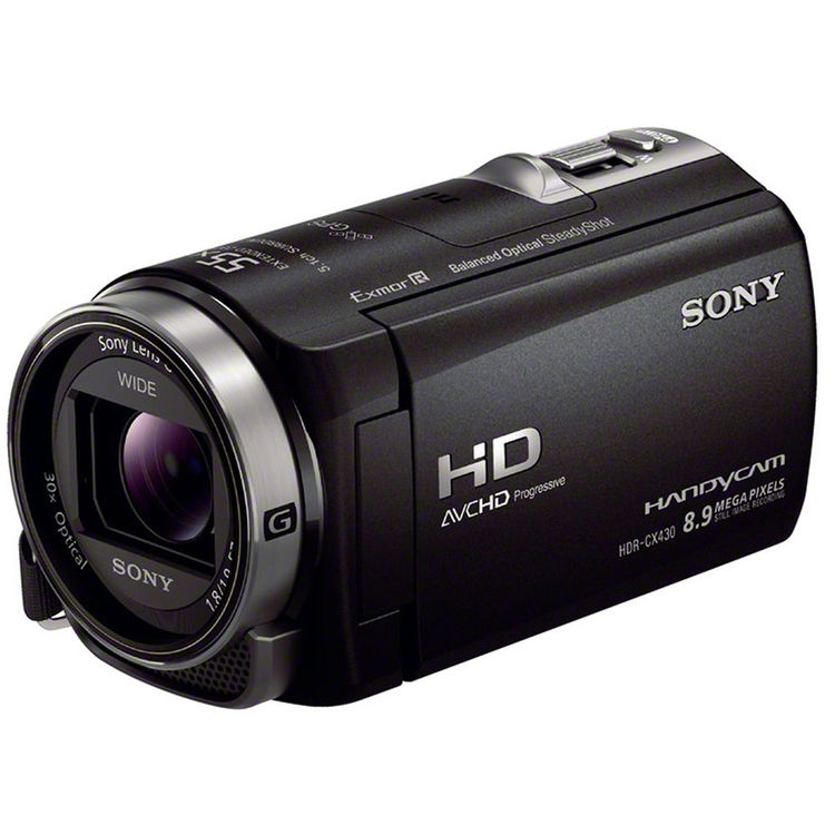 Sony Handycam HDR-CX430V HD 32GB