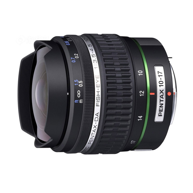 Pentax DA 10-17mm F3.5-4.5 Fish eye