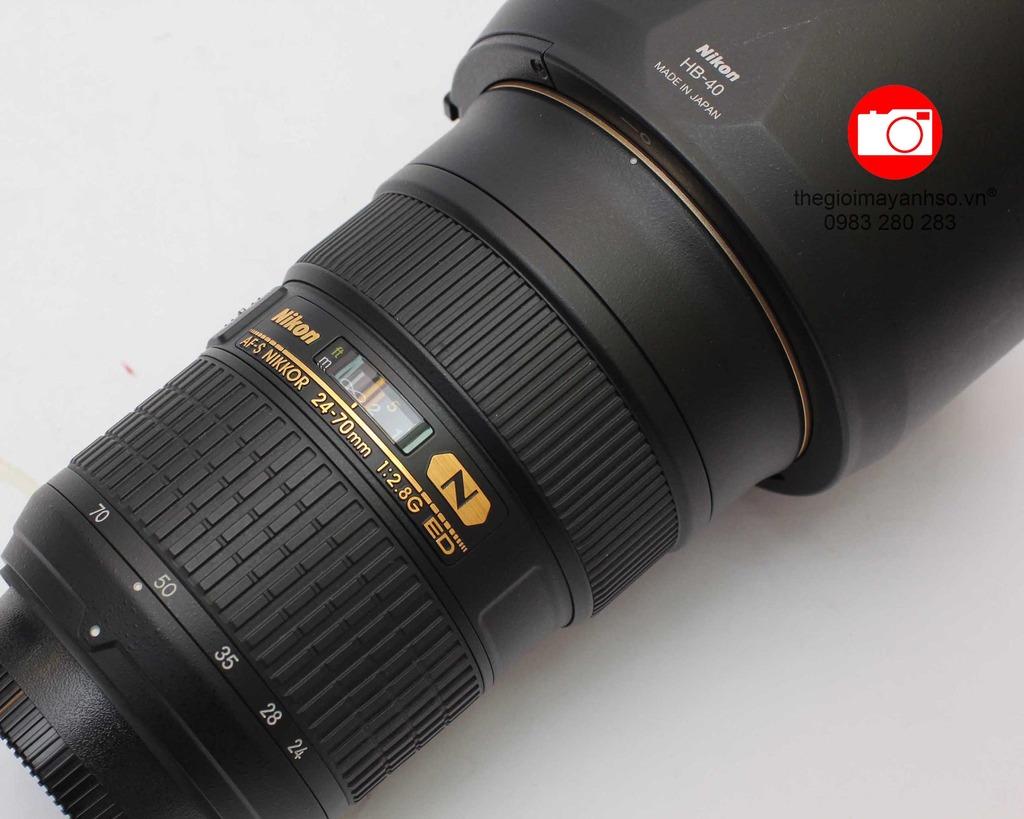 Nikon AF-S 24-70mm f/2.8 G ED Nano