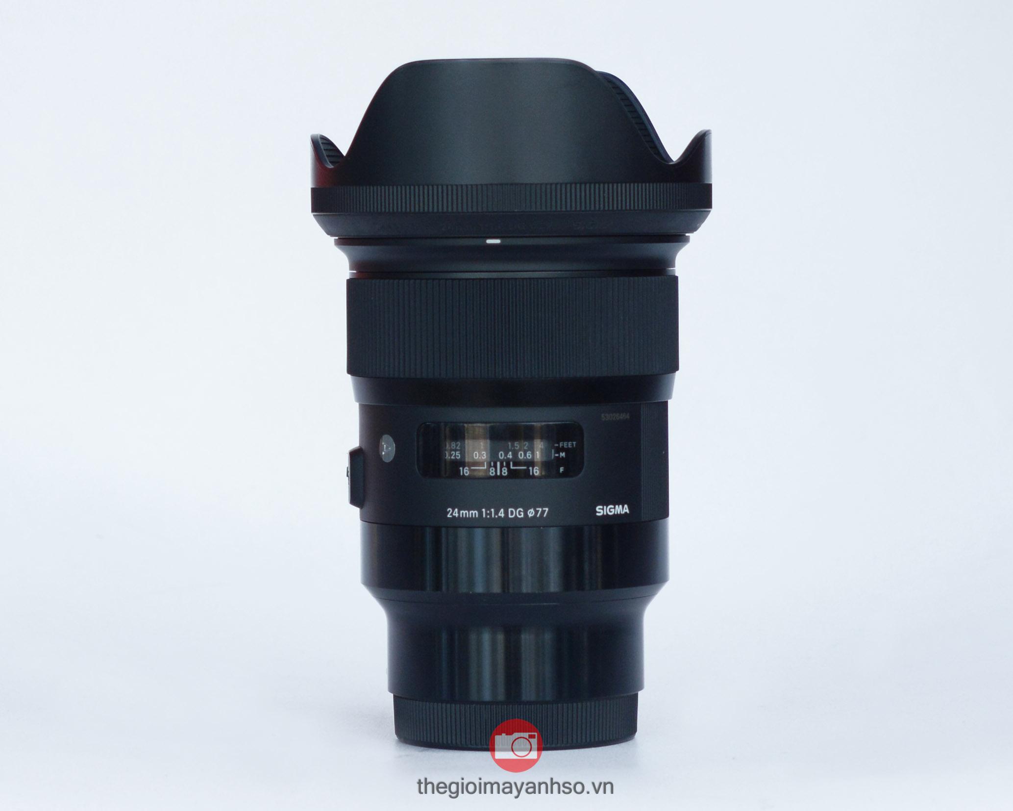 Sigma 24mm f/1.4 DG HSM Art For Sony E