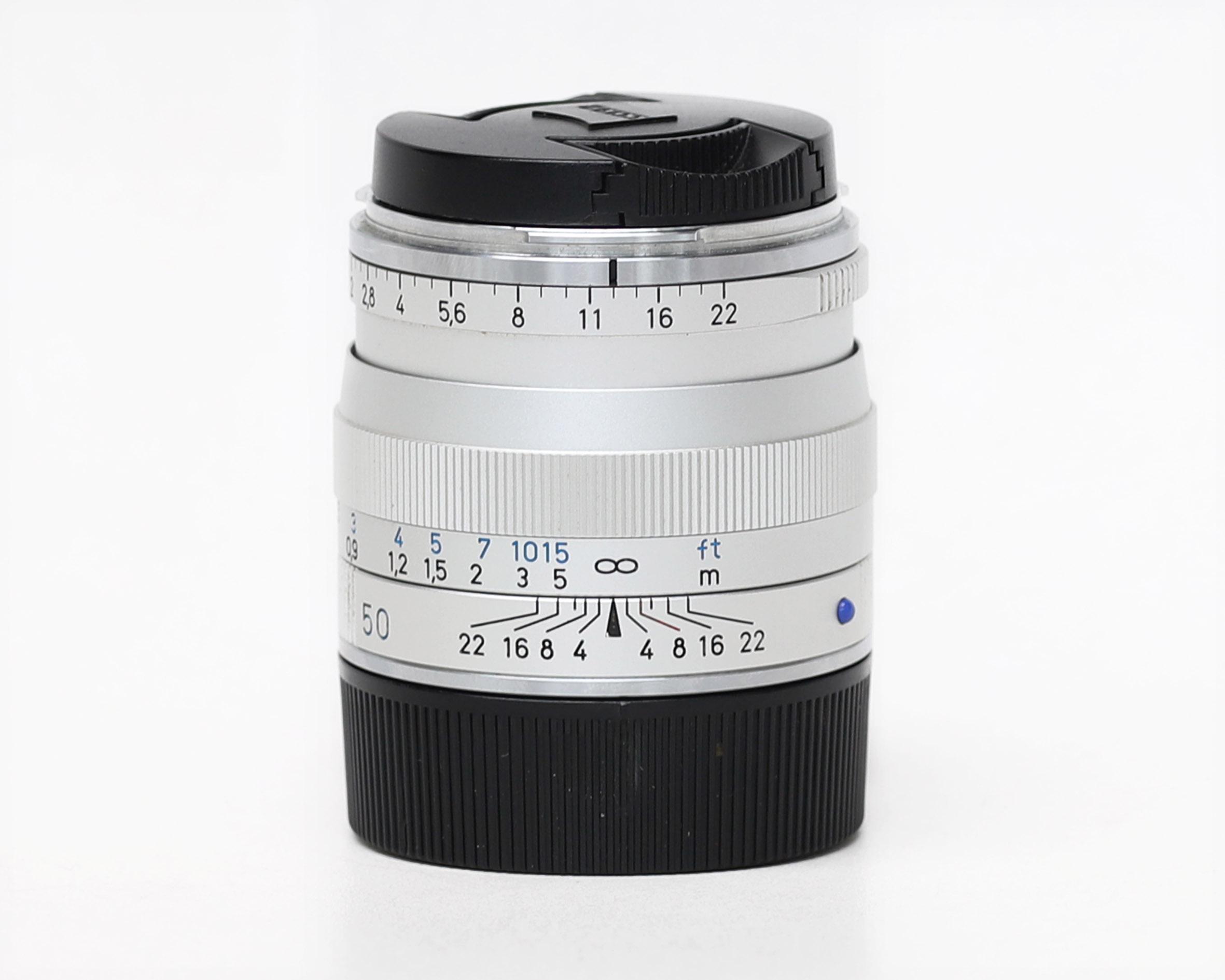 Carl Zeiss Planar T* 50mm f/2 ZM Lens (Silver)