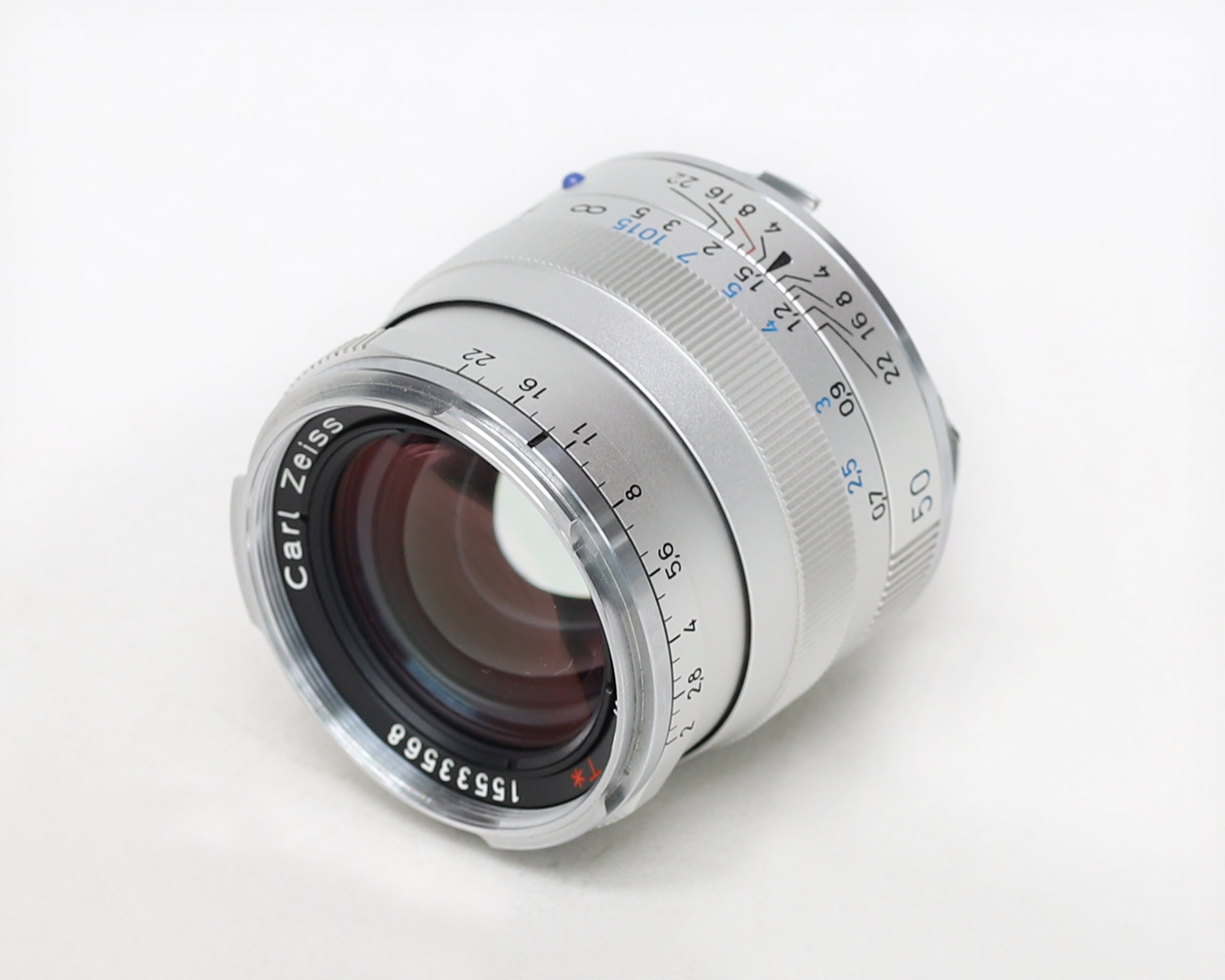 Carl Zeiss Planar T* 50mm f/2 ZM Lens (Black)