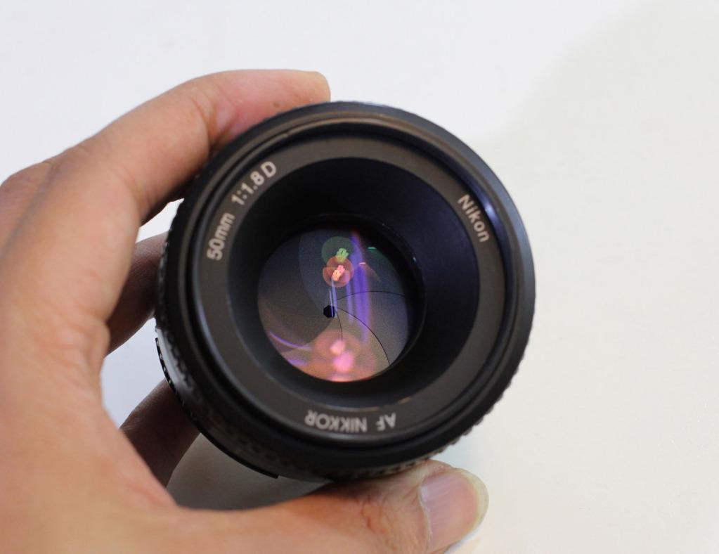 Nikon 50mm f/1.8 D AF