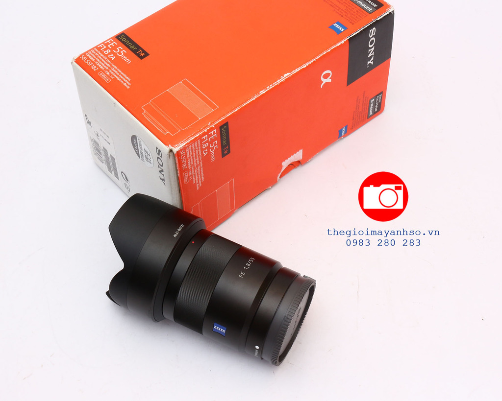 Sony 55mm f/1.8 ZA FE Carl Zeiss  Sonnar T*