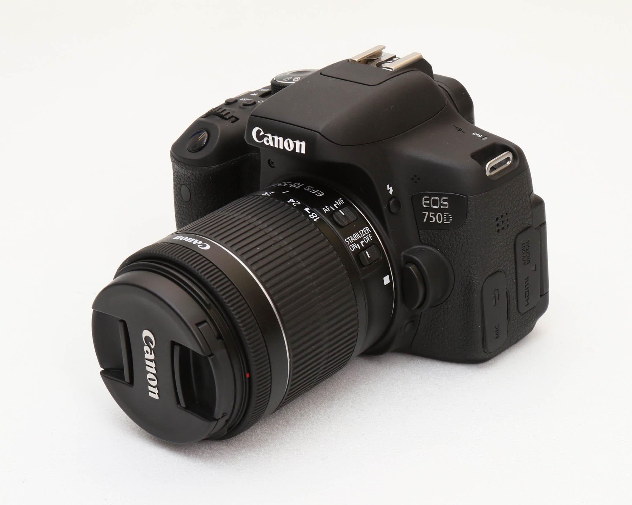 Canon 750D + Lens 18-55 IS STM