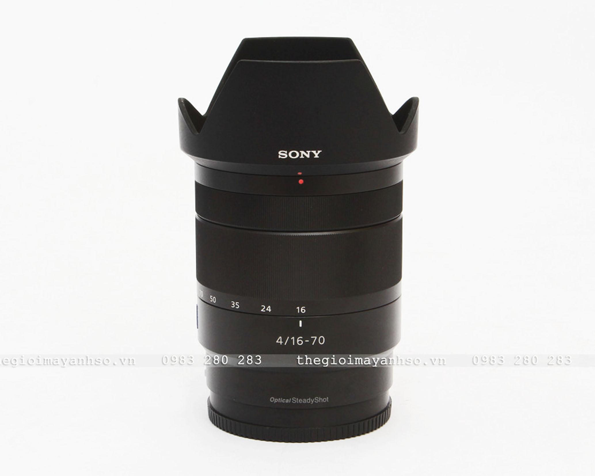 Sony Vario-Tessar T* E 16-70mm f/4 ZA OSS