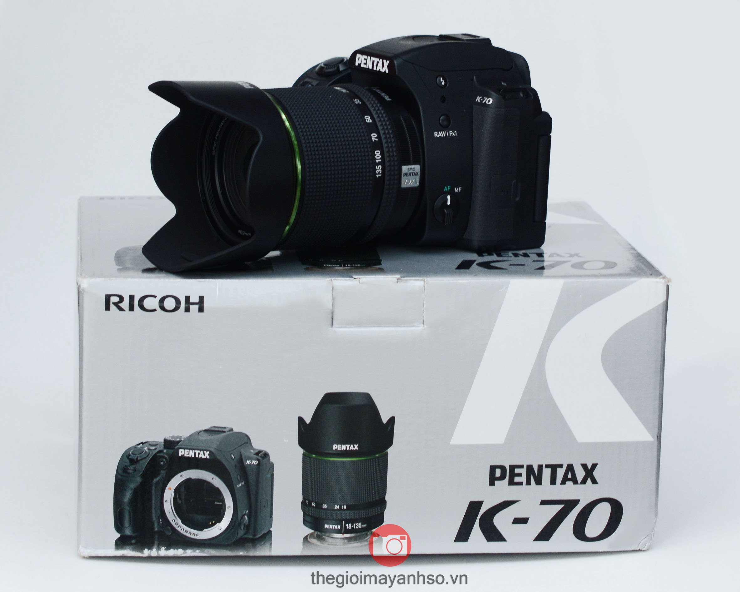 Pentax K-70 kit 18-135mm f/3.5-5.6 ED AL DC WR