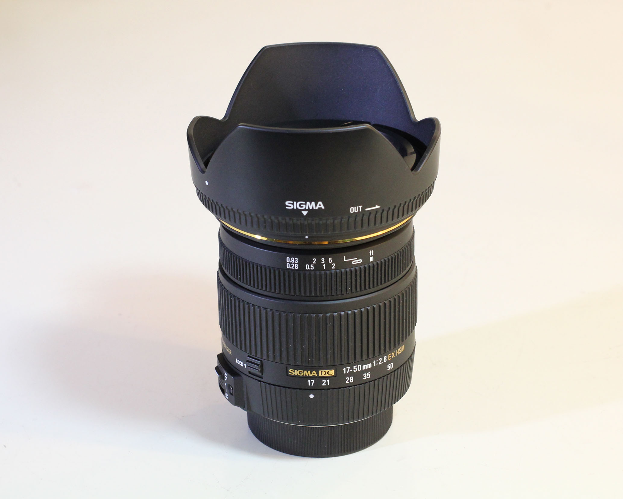 Sigma 17-50mm f/2.8 EX DC HSM OS for Canon / Nikon